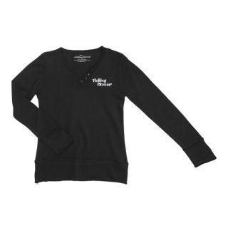 ROLLING STONES T shirt Manches Longues Noir Noir   Achat / Vente PULL