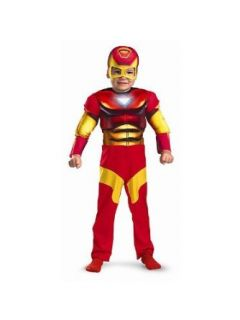 Iron Man Muscle Toddler Costume Size 3T 4T Clothing