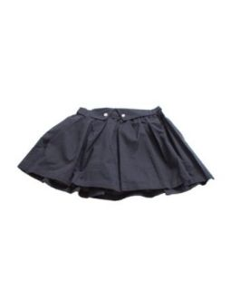 Girls Navy Blue Girls Collar Top Buttoned School Uniform