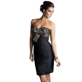 GEORGE BRIDE Short Black Sexy Prom Dress Clothing