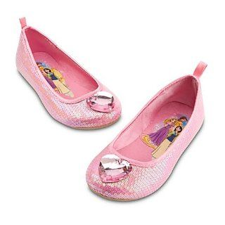 Disney Princess Pink Sequin Shoes/Ballet Flats Featuring