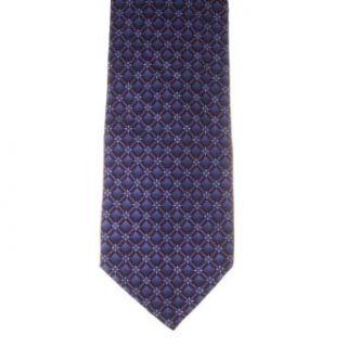 Claiborne Mens Patterned 100% Silk Neck Tie Purple One