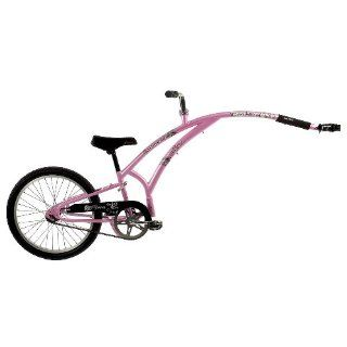Adams Folder 1 Trail A Bike (Pink   Floral Decal) Sports