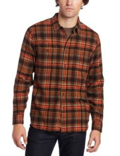 Lucky Brand Mens Sunset Plaid Double Pockets With Flaps