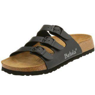 Sandals Birko Flor, Black, Size 38 EU with a narrow insole Shoes