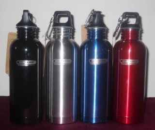 Sub Zero Stainless Steel Water Bottle (Black) Sports