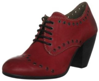 FLY London Womens Anna Oxford Shoes