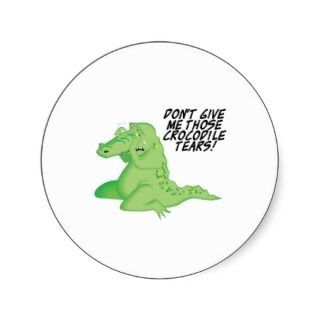 crocodile tears sticker