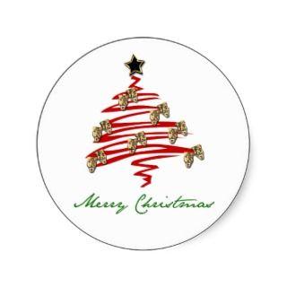 Drama Mask Christmas Tree Sticker