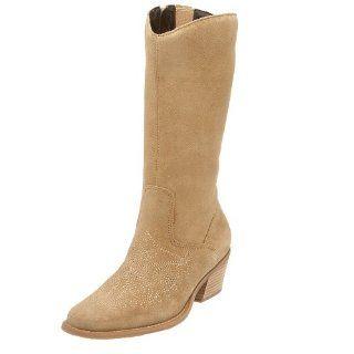 Original Dr. Scholls Womens Lasso Boot, Maple Tan Suede, 6M: Shoes