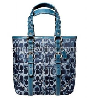 Coach Chelsea Signature Large Business Bag Purse Tote