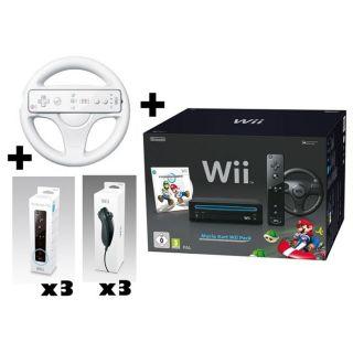 Wii NOIRE MARIO KART 4 JOUEURS   Achat / Vente WII Wii NOIRE MARIO