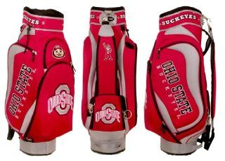 Ohio State Buckeyes Team Logo Golf Club Cart Bag   Golf