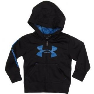 Under Armour Hoodie for Boys (2 7) Black, 7 Big Kids