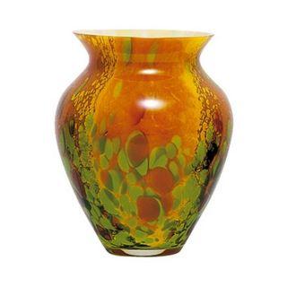 Vase en pâte de verre Diane HELIOS moyen modèle hauteur 20 cm Il
