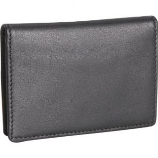 Royce Leather Deluxe Business Card Case   Black Clothing