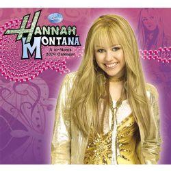 Disney Hannah Montana 2009 Calendar (Paperback)