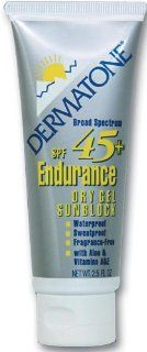 DERMATONE Extreme Sport Endurance Gel Sunblock SPF 45, 2.5