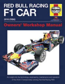 Red Bull Racing F 1 Car 2010 (RB6) Owners Workshop Manual (Hardcover