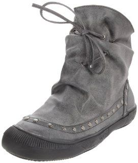 Miss Me Womens Macho 2 Flat Boot,Black,7 M Us Shoes