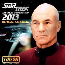 Star Trek the Next Generation Official 2013 Calendar Tng 25th