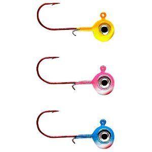 Rapala Neon Moon Eye 1/4 Jig Fishing Lure (Chartreuse Lime