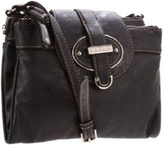 Nine West Womens Zipster Cross Body,Black,One Size Shoes