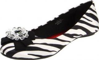 Grazie Womens Expo Ballet Flat Shoes