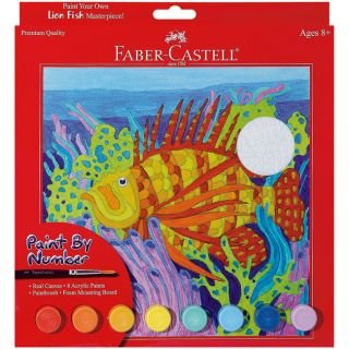 Lion Fish Paint By Number Kit