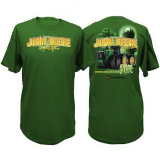 John Deere Tractors and Plows Short Sleeve Mens Tee