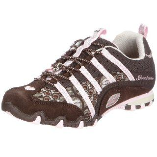 com SKECHERS Kids Biker Dignity Pre/Grd (Chocolate/Pink 4 M) Shoes
