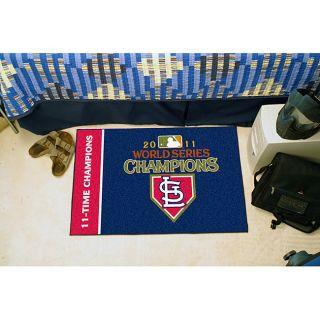 FANMATS MLB   St. Louis Cardinals 2011WORLDSERIES Starter Mat