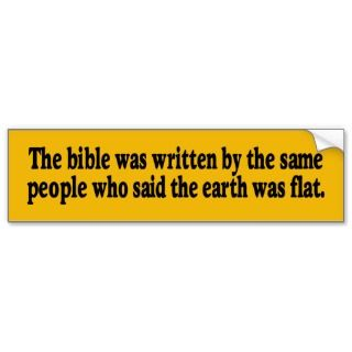 The Bible Bumper Sticker