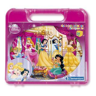 20 cubes Disney Princesses   Achat / Vente PUZZLE 20 cubes Disney