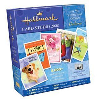 Nova Hallmark Card Studio 2008 Deluxe