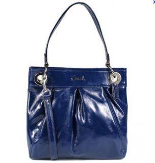 Patent Leather Hippie Convertible Handbag 17953 Cobalt Blue Shoes