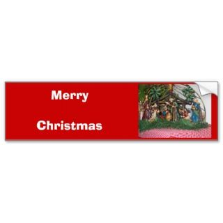 Bumper Sticker/Christmas/Nativity
