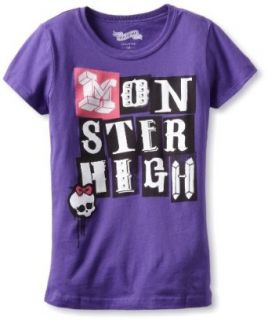 Awake Couture Girls 7 16 Monster High Classic Tee