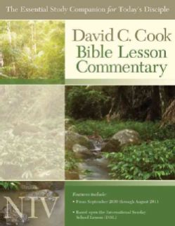 Cook`s Niv Bible Lesson Commentary 2010 11 (Paperback)