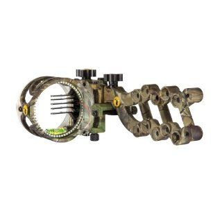 Trophy Ridge React 5 Pin Bow Sight, Right Hand, Camo