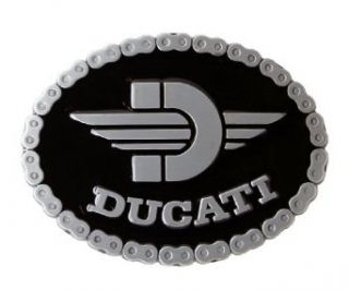 Ducati Motorcycle Chain Links Belt Buckle: Clothing