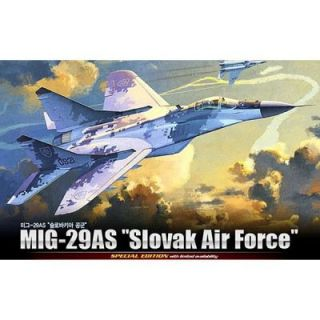29 AS Slovaq Air Force   Achat / Vente MODELE REDUIT MAQUETTE MIG 29