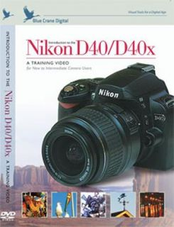 Nikon D40/ D40x Digital Camera Body Training DVD