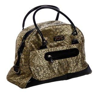XOXO Golden Leopard 20 inch Fashion Dome Duffel Bag