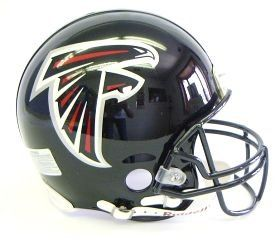 Atlanta Falcons Pro Line Helmet Features Official Team