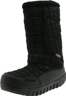 Mountrek Womens Lisa Quilted Boot,Black,6 M US Shoes