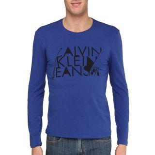 CALVIN KLEIN JEANS T Shirt Homme Bleu nuit Bleu nuit   Achat / Vente T