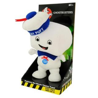 Ghostbusters Stay Puft Marshmallow Man Talking Plush (Happy Face