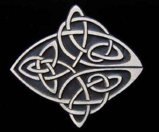 Celtic Knot Bronze Belt Buckle Clothing