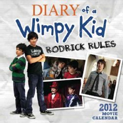 The Diary of a Wimpy Kid Movie 2011 2012 Calendar (Calendar